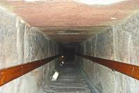 Внутри пирамиды Снофру