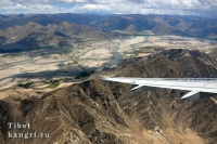 Тибет с самолета