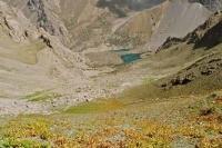 вид с перевала на Аллаудинские озера