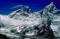 вид на Эверест(8848м) с Кала Патар 5545м